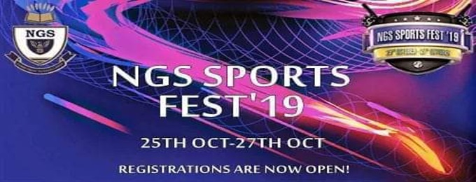 ngs sport's fest '19