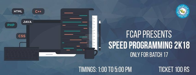 speed programming 2k18 (batch 17)