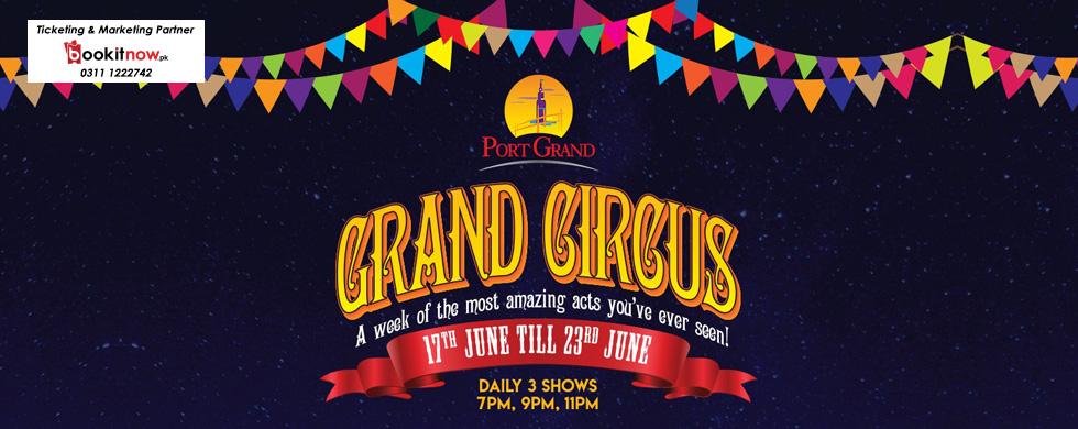 grand circus at port grand