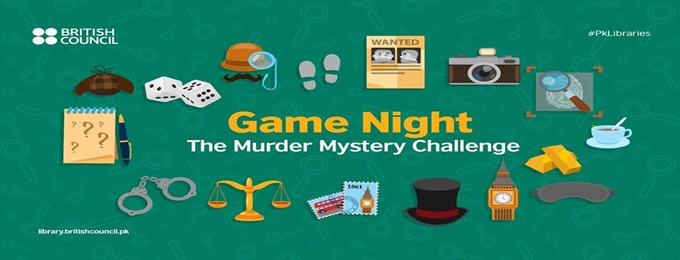 game night: the murder mystery challenge