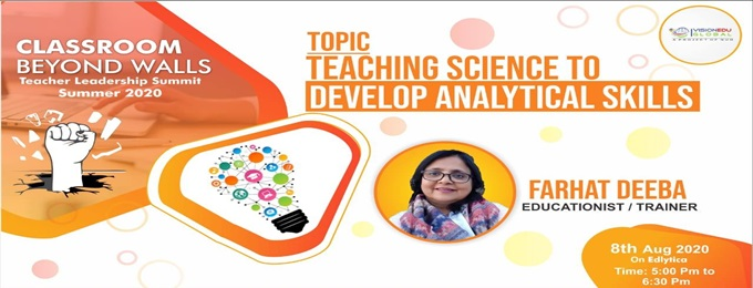 teaching science to develop analytical skills