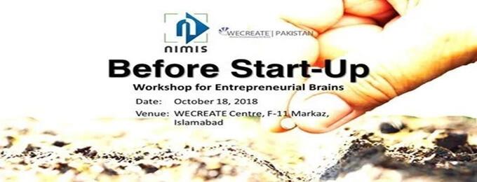 before start-up | workshop for entrepreneurial brains