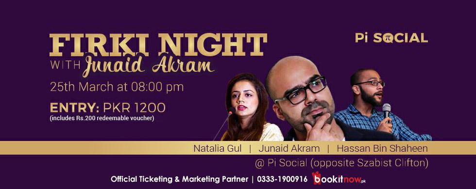 firki night with junaid akram
