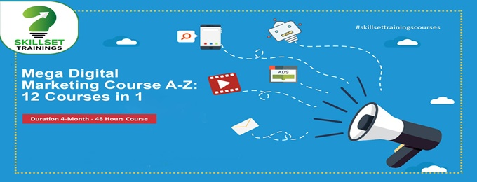 mega digital marketing course a-z: 12 courses in 1