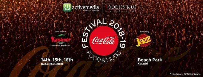 coke food and music festival