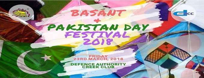 basant & pakistan day festival 2018