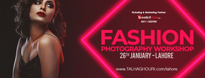 Fashion Photography Workshop   Lahore