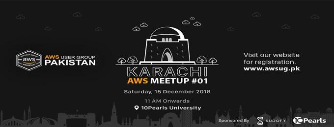 aws karachi meetup #01