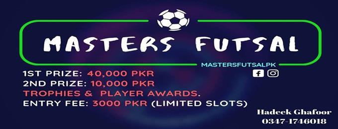 masters futsal 1.0