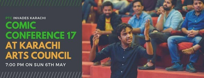 Comic Conference 17 at Karachi Arts Council