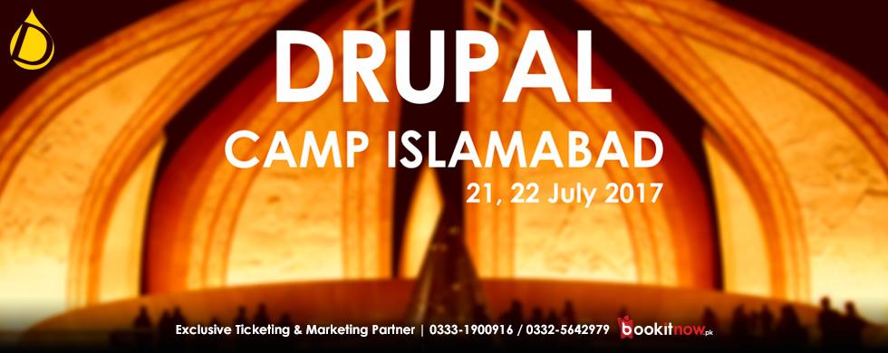 drupal camp islamabad 2017