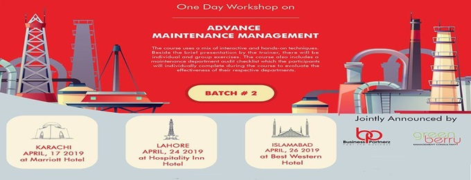 advance maintenance management - batch-2