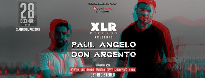 XLR Records pres. Paul Angelo & Don Argento