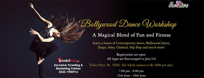 bollywood dance with a twist!