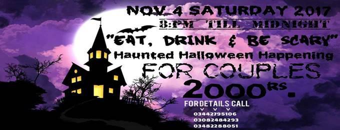 haunted halloween happening