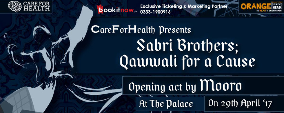 careforhealth presents: sabri brothers; qawwali for a cause