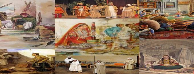 pashto folk drama theatre
