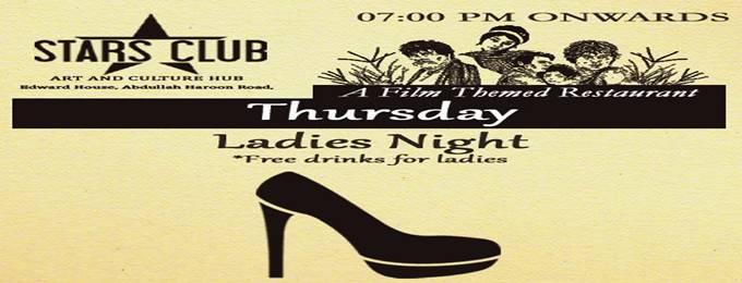 "every thursday - ""ladies night"""