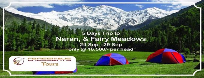 5 days trip to naran & fairy meadows