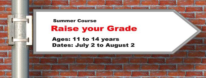 summer camp in english language (grade 6 to o level)