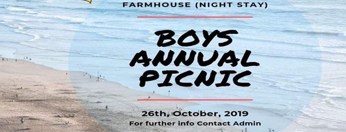 boys annual picnic 2019