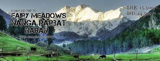 5 days eid trip to fairy meadows & nangaparbat bc (27th june,17)