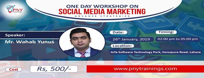 one day workshop on social media marketing advance strategies