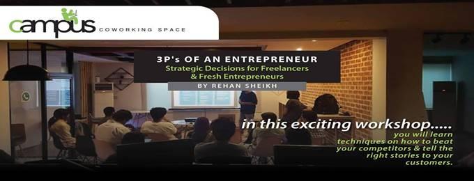 3p's of an entrepreneur - strategic decision making