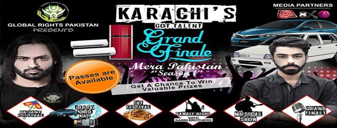 "karachi's got talent""grand finale"" (mera pakistan season#1)"