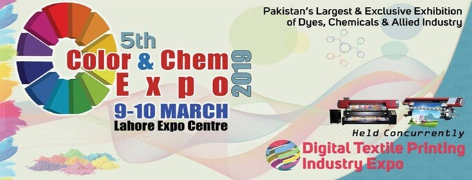 5th Color & Chem and Digital Textile Printing Industry Expo