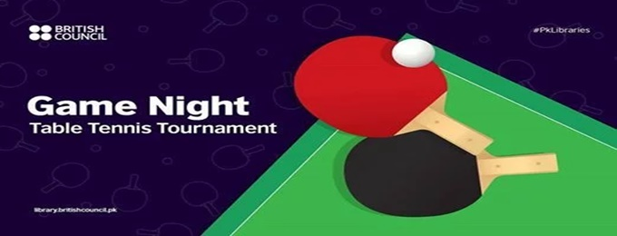 game night: table tennis tournament