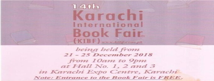 14th karachi international book fair