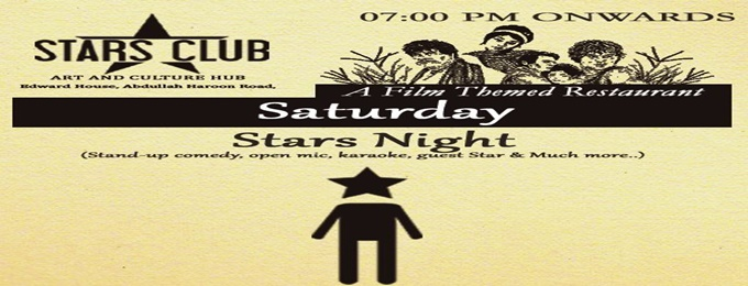 "every saturday ""stars night"""