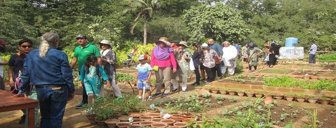 bhajitable garden workshop vi. family affair, children & parents
