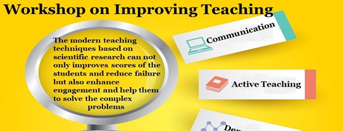 workshop on improving teaching