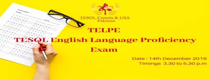 telpe tesol english language proficiency exam