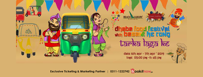 dhaba food festival with basant ke rung ( season 1) #dffs1