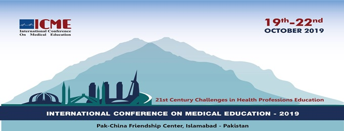 international conference on medical education (icme) 2019