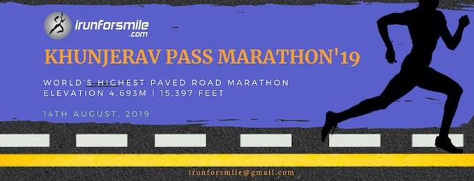 khunjerav pass marathon (4,693m)