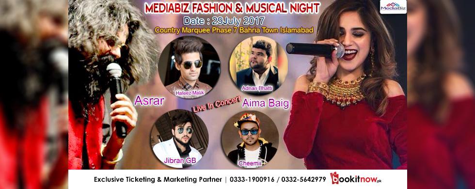 mediabiz fashion and musical night