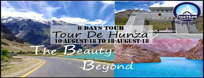 tour de hunza with naran (08 days) 10 august 18 to 18 august 18