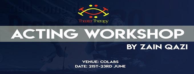 acting workshop by zain qazi