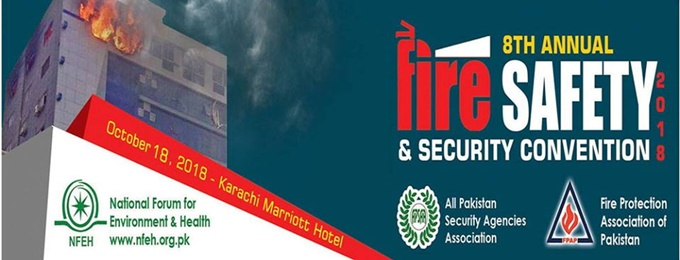 8th international fire, safety & security convention pakistan