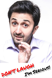 Don't Laugh! I'm Serious! | Stand-up Comedy by Faheem Azam Karachi