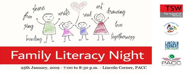 family literacy night - january