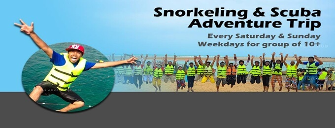 snorkeling & scuba trip to charna island