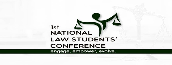 first national law student's conference 2018