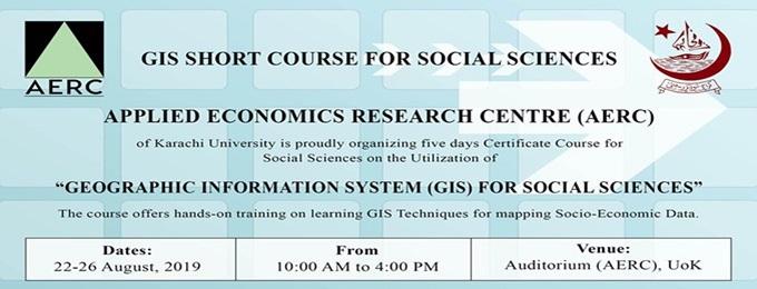 gis short course for social sciences