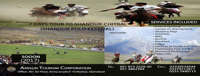 7 Days tour To Shandur-Chitral (Shandur Polo Festival)