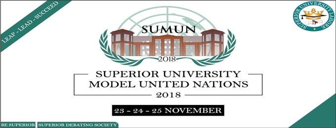 superior university model united nations - sumun'18